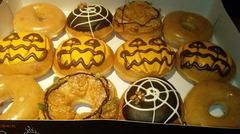 ハロウィン仕様のドーナツ