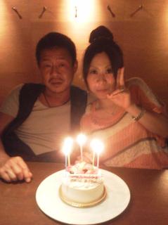 西本さんとあずちゃんの誕生日会