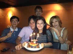 メグちゃんの誕生日パーティ(3)
