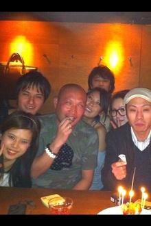 杉田さん&コバのBDパーティ