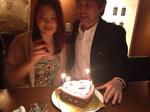 みきちゃん、ケーキとモエシャンありがとうございました3.jpg